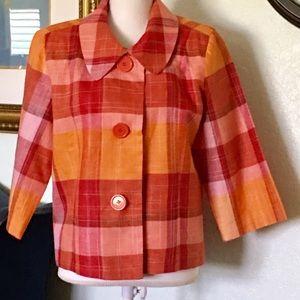 Silk Land Jacket, 100% Linen brand by Stein Mart